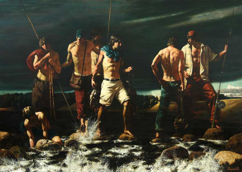 рыбаки ребята картинки